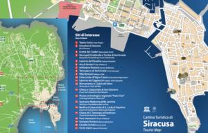 Siracusa Tourist Map